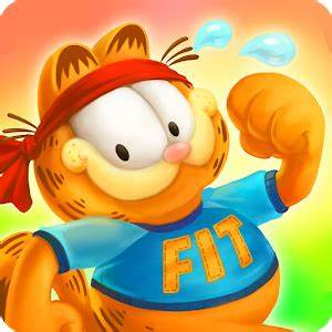 The picture of a healthy animated cat, stating fit.