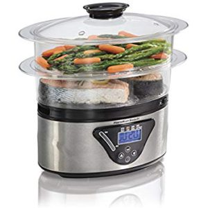 The picture of a Hamilton Beach Food Steamer.