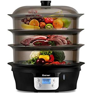The picture of the Costway food steamer.