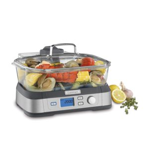 The picture of the Quisinart digital glass steamer