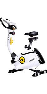 the picture of the L NOW Upright Bike Magnetic Resistance Exercise Bike